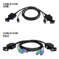 China Cable KVM Switch, Cable Size Big, with USB or PS-2 Interface on sale