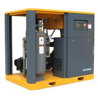 China 55kw/75hp Lubricated Lubrication Style and Used Condition Rotary screw air compressor 145psi on sale