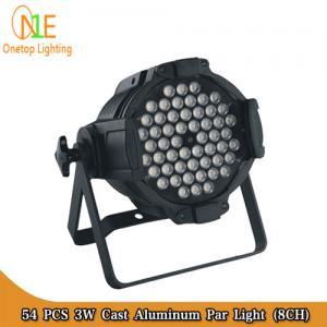 Quality 54 pcs 3W Cast Aluminum Par Light RGBW Stage Light DJ Light Factory wholesale
