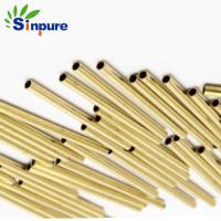 China Small Diameter Thin Wall Micro Copper Pipe 0.02mm Tolerance With Smooth Surface on sale