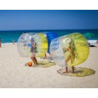Quality TPU Inflatable Zorb Ball Interactive Bumper Bubble Soccer Football wholesale