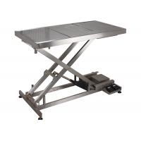 Quality SUS 304 Veterinary Surgery Table For Pets , Electrical Veterinary Lift Table wholesale