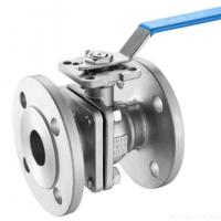 Buy cheap DIN 2pc Floating Type Stainless Steel Ball Valve With ISO5211 Direct Flange End from wholesalers