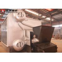 Quality Automatic Feeding Wood Fired Steam Boiler 0.7MPa - 3.6MPa Pressure ISO9001 wholesale