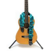 China Colorful Personalized Leather Guitar Straps , Customizable Guitar Straps For  Acoustic on sale