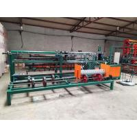 China Automatic Chain Making Machine , Diamond Mesh Fencing Machine For PVC Coating Wire on sale