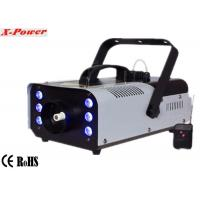 Quality Portable 900w Stage Fog Machine Party Smoke Machine With 6*3w 3 in 1 RGB LED  X-026 wholesale