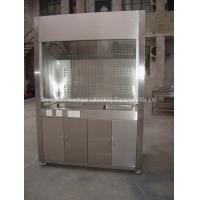 Quality Stainless Steel Fume  Hood  Chamber Factory Supply Stainless Steel Fume Chamber For Lab Importers wholesale