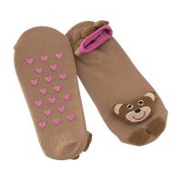 Quality Bear Pattern Cosy Slipper Socks Aloe Infused Women For Cold Weather wholesale