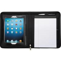 Quality Leeds Flip Genuine Leather Black Portfolio / Padfolio For IPad2/3/4/Air - New wholesale
