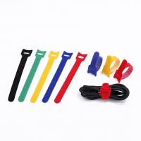 Quality Special Viscous Double Sided Cable Tie , Colorful Back To Back Hook & Loop Cable Ties wholesale