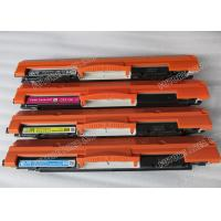 Quality Compatible CE310A CE311A HP Laser Printer Toner Cartridges With No Gray wholesale