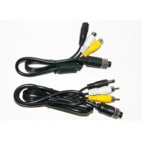 Quality Colorful 4 Pin RCA BNC Cable , BNC Video Cable For Marine Equipment wholesale