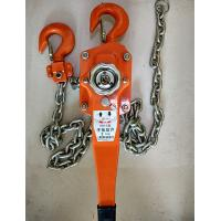Quality Construction Hand Wrenching Chain Tackle Block , Hand Chain 3 Ton Hoist Crane wholesale