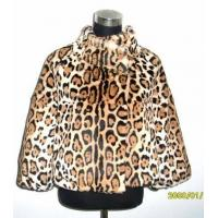 Quality Printing Rabbit Fur Jacket wholesale