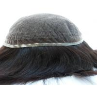 Quality Wholesale Price Quality Virgin Human Hair Full Swiss Lace Toupee For Black Men wholesale
