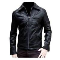 Quality S M XL XXL XLL waterproof plus size Fleece Lined Leather jackets for men wholesale
