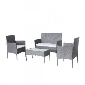 Quality H840mm Rattan Garden Furniture Sets wholesale