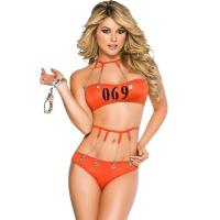 Quality Convict 69 Prisoner Costume Adult Costumes for Carnival Christmas Halloween wholesale