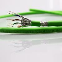 Buy cheap PVC PE Jacket Cat6A Lan Cable , Al Foil Cat6a Network Cable 4 Twisted Pairs from wholesalers