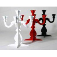 Quality CH-123 rose Acrylic candle holder wholesale