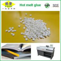 Quality Milk Granule Bookbinding Glue EVA Hot Melt Adhesive For Binding Machines wholesale