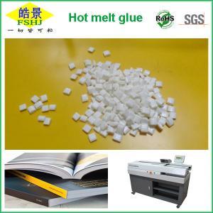 Cheap Milk Granule Bookbinding Glue EVA Hot Melt Adhesive For Binding Machines for sale
