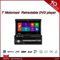 China 7 In Dash TFT Motorized digital touch screen Car DVD player,TDA7388,high definition,GPS(Model:V-7380DG) on sale