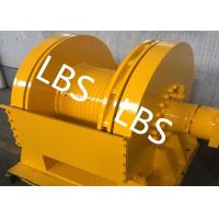 Quality DNV Approved Marine Hydraulic Winch / Windlass Winch For Pulling Dragging 12 Tons wholesale
