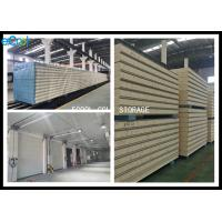 China Waterproof Insulated Wall Panels Cold Room / Gray 25mm Coolroom Panels on sale