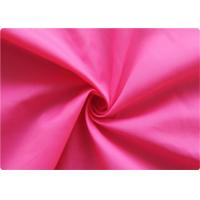 Quality Professional pink Polyester Elastane Fabric Garment Cloth 210-270GSM wholesale
