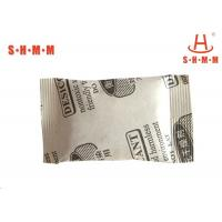 Quality Natural Clay Calcium Chloride Desiccant , Small Desiccant Packs Non - Corrosiveness wholesale