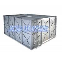 Quality Stainless Steel Sectional Water Tanks / Water Storage Tanks , Square Shaped Stainless Steel Water Tanks wholesale