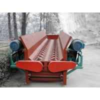 Quality China quality tree bark peeling machine / pine wood debarker machine with single roller or double rollers wholesale