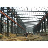 Quality Industrial Steel Structure Warehouse Buildings Eps Sandwich Panel Wall / Roof wholesale