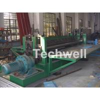 Buy cheap High Strength Round Wave Corrugated Sheet Roll Forming Machine Horizontal from wholesalers