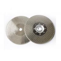 """Quality 4.5"""" Electroplated Diamond Tools Electroplated Diamond Saw Blade For Stone Cutting wholesale"""