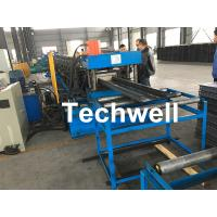 Quality High Speed Cable Tray Roll Forming Machine With 18 Steps Forming Stations wholesale