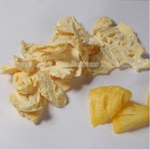 China Freeze Dried Pineapple Slice on sale