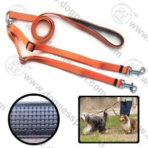 China Nylon Dog Leash For Two Dogs, Double Dog Leashes, EVA Dog Leash on sale