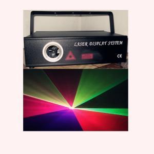 Quality Pub 1W DMX512 RGB Laser Stage Lighting Portable Disco Light AC 220V-240V wholesale