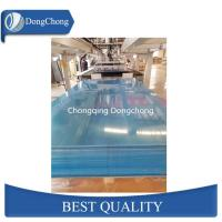 Quality Blue Mill Finish Aluminum Sheet Metal , 7075 T6 Aluminum Plate Wear Resistance wholesale