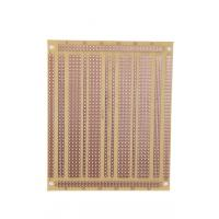 Cheap FR-1 UL94 V0 Electronics PCB Breadboard , Copper Base PCB Board Prototype for sale