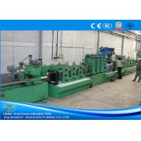 Quality Fully Automated SS Pipe Making Machine , Welded Tube Mill High Yield 11KW Motor wholesale