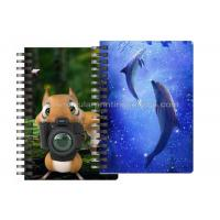 Quality Custom Animal Design 3D Lenticular Notebook For Kids Cute Souvenir Gift Stationery wholesale