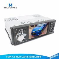 Quality 1GB 1 Din Touch Screen Car Stereo With Car FM USB SD BT RDS Radio wholesale