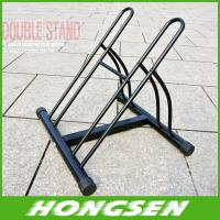 Quality Two position steel bicycle wheel racks stand for parking wholesale
