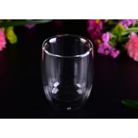 Quality Superior 220ml Hot Double Wall Drinking Glasses LFGB CA65 FDA Certification wholesale