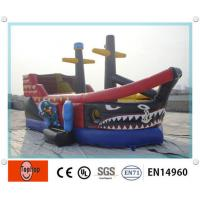 Quality Playground amazing Inflatable Dry Slides , inflatable pool slides for swimming pools wholesale
