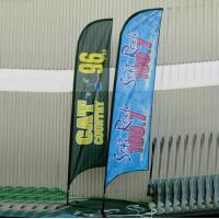 Quality Advertising Feather Flags , outdoor Flying banners for Tradeshow wholesale